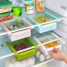 2016 Newest Wall Shelf The Refrigerator Storage Rack With Layer Partition Tic Type Storing Box Kitchen Shelf Organizer Case