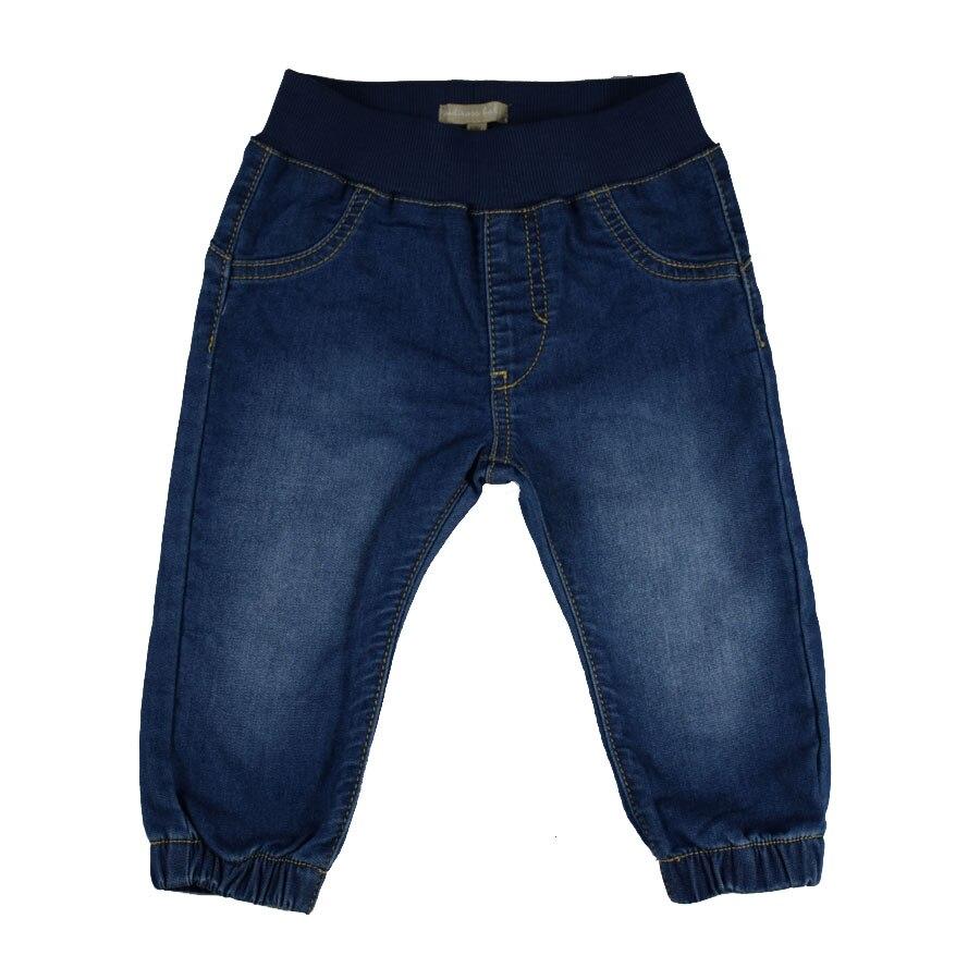HSIN1703012-1Baby Denim Jeans Pants Warm Soft Leggings Boys Girsl Newborn Bebe Harem Trousers Infant Toddler Blue Pantalones Children Clothes