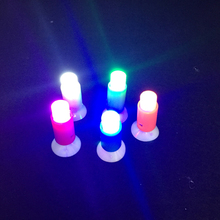 2017 Led Wedding Dress Push Sucker One Touch Colorful 5 Colors Light Mini Led Lamp Toys Romantic Bar For Party Home Decor 10pcs