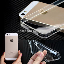 Original crystal clear slim soft TPU Case for iPhone 5 5S 4 4S 6 4.7'' for iPhone 5 Plus 5.5'' ipone back cover Coque Fundas