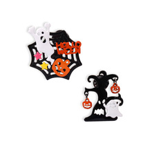 Cute Cartoon Funny Tree Star Halloween Specter Spider Web Ghost Pumpkin Brooch Pins Jeans Bag Decoration Women Fashion Jewelry