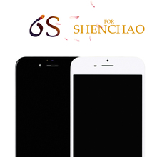 NO dead pixel for shenchao 5 pcs lcds for iphone 6s LCD Display Assembly With Frame china highscreen clone,free shipping(China)