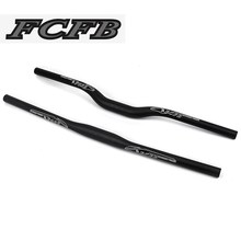 Buy 2016 FCFB mountain 3K matt + glossy sticker black carbon handlebar flat bar rise bar bike parts cycling parts for $18.84 in AliExpress store