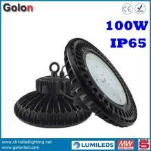 Supermarket store warehouse workshop sport court market lighting wateproof 100 watts 100w LED high bay light fittings