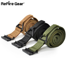 Military Equipment Tactical Belt Men Casual SWAT Army Combat Nylon Military Belts Adjust Emergency Rigger Survival Waist Belt