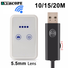 Antscope Iphone Endoscope WiFi Borescope Camera Computer IOS Android Endoscopic Camera Wi-Fi Inspection Waterproof USB Borescope