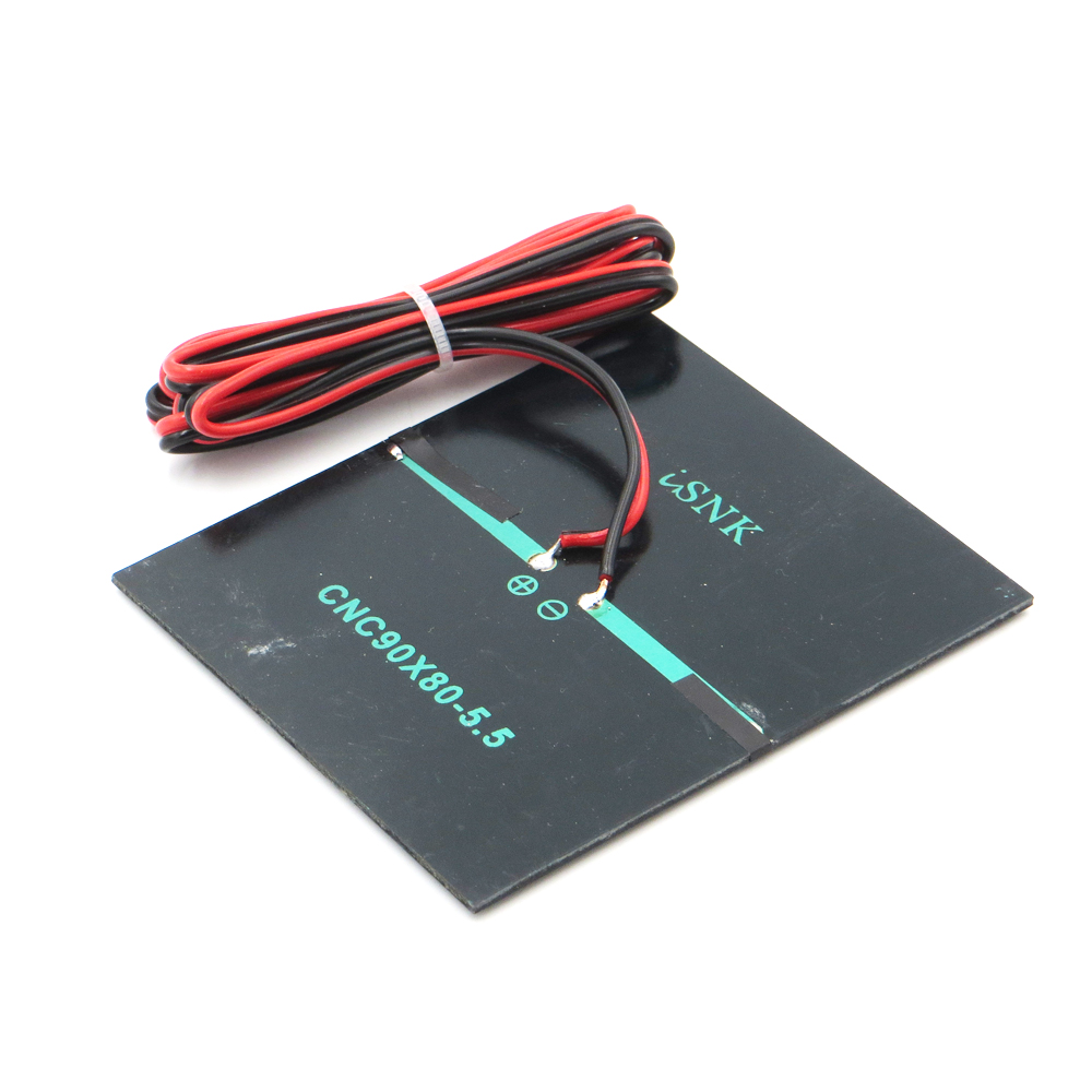 X 55v 160ma With 100cm Extend Cable Solar Panel Polycrystalline Battery Charger Circuit On Diy Wiring 10pc Cell