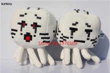 Hot Sale Discount 2Pcs/Lot Minecraft Toys Baby Juguetes 18CM MC Minecraft Ghast Creeper Doll  Nice Gift For Kids Girls Children