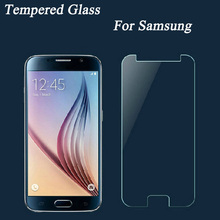 Screen Protector Protective Case Tempered Glass Film for Samsung Galaxy S3 S4 S5 S6 A3 A5 A7 2015 J1 mini 2016 J5 J7 C5 C5000 C7(China)