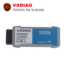 [VXDIAG Distributor] VXDIAG VCX NANO for TOYOTA TIS Techstream V10.30.029 Compatible with SAE J2534 Free shipping