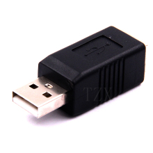 1pcs Hot Sale USB 2.0 A Male to USB B Female Adapter Converter Adaptor for External Hard Disk Printer or Scanner