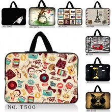 "10"" Nice Laptop Carry Sleeve Bag Case +Hide Handle For 10.1"" HP Mini 110 210,Acer Aspire One /Surface Pro RT 10.6"" Tablet"