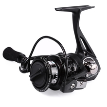 TSP2000 Trulinoya 12BB Metal Aluminum Spinning Fish Reel Baitcasting Foldable Spinning Fishing Reel with Spare Spool