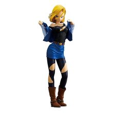 Buy 25cm Dragon Ball Z Android 18 Lazuli sexy Anime Action Figure PVC New Collection figures toys Collection Christmas gift