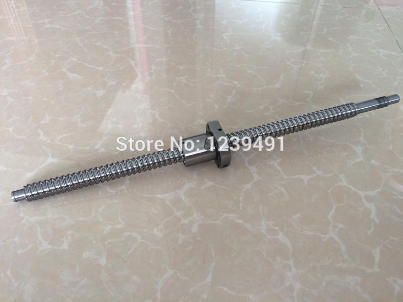 1pc SFU1204 - 1395.8mm Ball screw with ball nut Press FK10/FF10 according to the drawing<br>