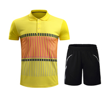 Free print Badminton sets Men/Women , Badminton clothes , sports table tennis shirt + shorts , pingpong jerseys 213AB(China)