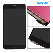 "5.2"" Black Screen For Sony Xperia Z3 D6603 D6643 D6653 D6616 LCD Display Touch Screen with Digitizer,free shipping"