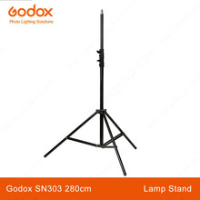 Godox SN303 2.8m Studio lamp holder flash Light The Professional Photographic Tripod Aluminum Stand led video light stand(China)