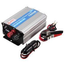 Brand New 1000W DC 12V to AC 220V Vehicle Power Supply Switch On-board Charger Car Inverter