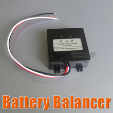 hot sale Battery equalizer 2 X 12V used for lead-acid batteris Balancer charger for Gel Flood AGM lead acid battery(China)