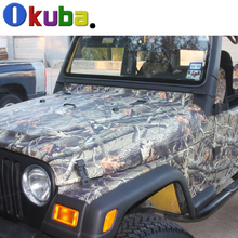 Mossy Oak Ambush Real Leaf Tree Camouflage Vinyl Car Wrap Realtree Camo Truck Glossy Matte Finish Sheet Decal