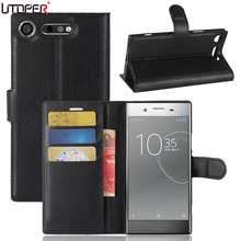 Buy UTOPER Sony Xperia xz1 Case Cover Flip Wallet PU Leather Cover Sony Xperia xz1 Cover Magnetic Flip Fundas Silicone Case for $3.59 in AliExpress store