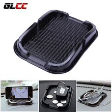 GLCC Sticky Gel Pad Anti Slip Mat For Phone Car Dashboard Sticky Pad Holder Magical Silicone Gel Pad Black Car Accessories(China)