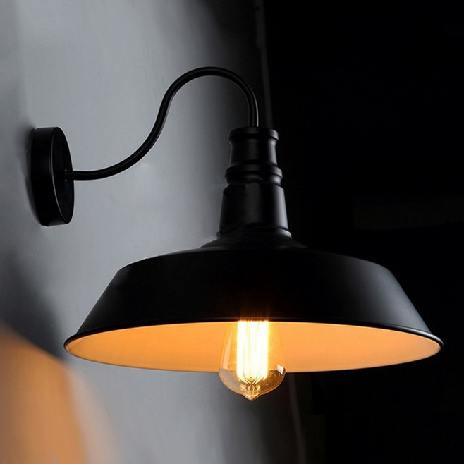 Industrial nostalgic personality minimalist style loft Nordic British American country style RH lid wall sconce light Drop Ship<br><br>Aliexpress