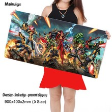 Mairuige Free Shipping 400*900*2MM Movie Large Mouse Pad Pad To Mouse Notbook Computer Mousepad Overlock Edge Big Gaming Pad(China)