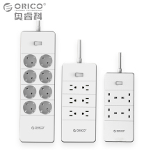 ORICO Electrical Socket Plugs Adaptors with 5 Ports USB Charger 4 6 8 AC Ports 2500W Output for Home Office Use(China)