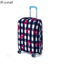 HIINST Happy Gift 1 Pcs Luggage Cover 18-20 Inches Elastic Nonwoven Dust-Proof Travel Bag Suitcase Cover