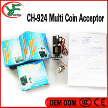 DIY game machine parts Multi Coin Acceptor coin Selector Vending machines arcade part coin validator token acceptor