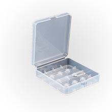Plastic Transparent 18650 Battery Holder Box Container Housing Case For 4 x 18650 Battery Storage Boxes(China)