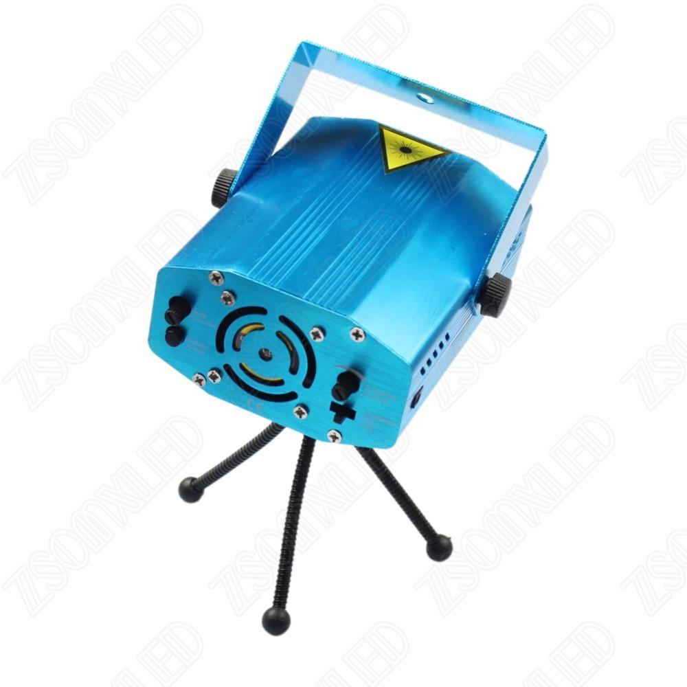 R&amp;G Mini Laser Projector DMX LED Stage Lighting Professional DJ Equipment christmas laser projector Strobe Dance Disco Light<br>