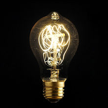 220V E27 40W Incandescent Bulbs Filament Light Vintage Retro Antique A19 Edison Industrial Style Lamp Bulb Tungsten BulbLight