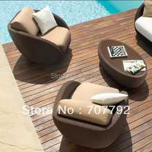 outdoor furniture rattan Sofa and Lounge Chair