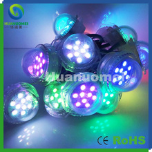 Free Shipping !!100pcs/pack rgb led pixel module smd 9leds light DC24V ip67 outdoor indoor wall decoration(China)