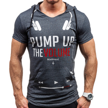 Buy Summer Men t Shirts 2018 New Fashion Tops Tees Hooded Short Sleeve T Shirt Mens Clothing Casual Tee Shirts hombre t-shirts XXL for $9.98 in AliExpress store