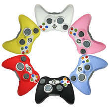 Hot Selling! 1 PCS New Quality Soft Silicone Rubber Protective Skin Case Cover For Microsoft for XBOX 360 Game Controller #Jan4