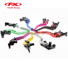 For Honda CBR 600 F/F2/F3/F4/F4i 1987-2006 CNC Motorcycle Adjustable Clutch Brake One Pair Levers 10 Colors Black Gold Blue