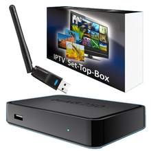 Mag250 IPTV Box Linux Operating System Set Top Box With USB Wifi Support Streaming Video Mag 250 Not Include iptv Account