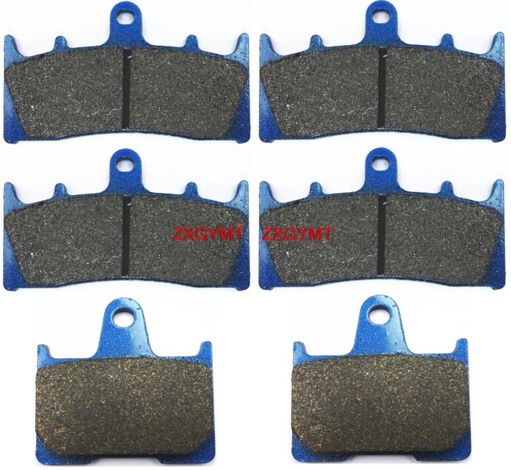 Motorcycle Semi-met Brake Shoe Pads Set for SUZUKI GSX-R1000 GSXR1000 GSXR 1000 GSX-R 1000 2001 - 2002<br><br>Aliexpress