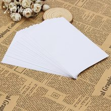 KIWarm New Arrival 50Pcs A4 Self Adhesive Glossy Paper Label Sticker for Photographic Photo Inkjet Printer Paper Craft Paper(China)