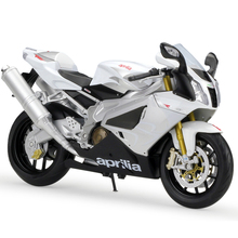 1:10 Motorcycle Models RSV 1000R Simulation Model Metal Diecast Models Motor Bike Miniature Race Toy For Gift Collection(China)