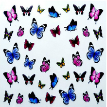 3 Style 3D Design Cute DIY Watermark Animal Tip Nail Art Water Stiker For Nail Sticker For Nails Water Decals Manicure Woman(China)