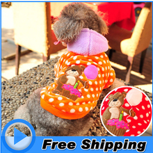 High Quality Brand Dog Clothes Winter Small Dog Jacket Medium Warm Puppy Hoodie Coat for Yorkshire Terriers Teddy XXS XS-L Size(China)