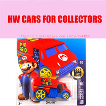 Hot Sale Hot 1:64 cars Wheels 2016 super mario cool one cars Models Metal Diecast Car Collection Kids Toys Vehicle For Children