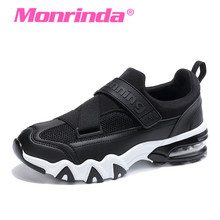 Monrinda 2017 Sneakers Women Breathable Running Shoes For Women Air Cushion Sports Shoes For Woman Eva Outdoor Jogging Sneaker(China)