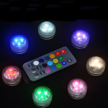 Remote Control Colorful Aquarium LED Lighting Diving 3 LED Waterproof Underwater Electronic Submersible LED Light Fish Tank Lamp
