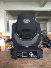 china market mini moving head 132W sharpy 2r beam moving head dj lighting osram bulb from china